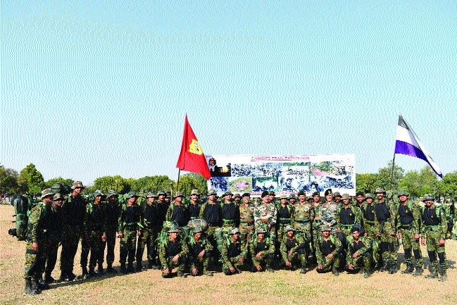Army flag-off Chindits Trail Expedition