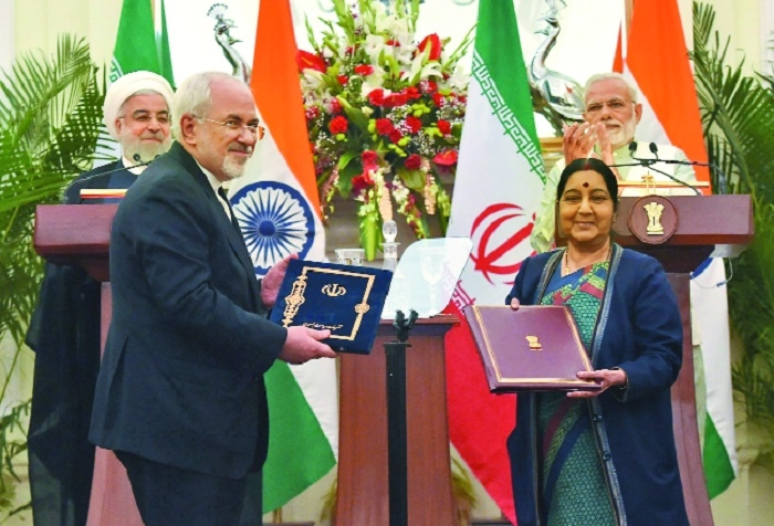 Chabahar port lease contract among 9 pacts inked with Iran