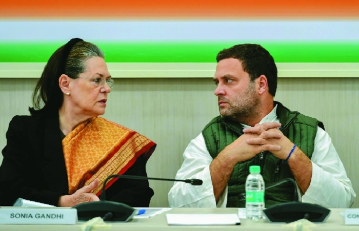 Rahul chairs first Congress steering committee meet