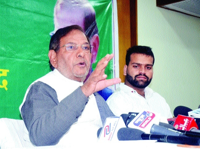 Country facing challenging times: JDU's Sharad Yadav