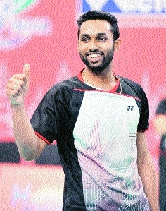 Prannoy credits Saina, Sindhu for mindset change