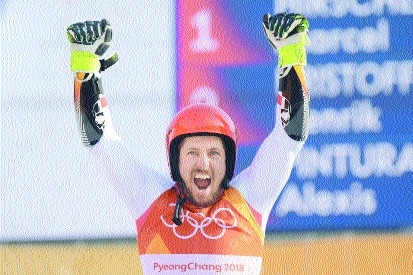 Hirscher claims Oly double as Russian doping spectre returns