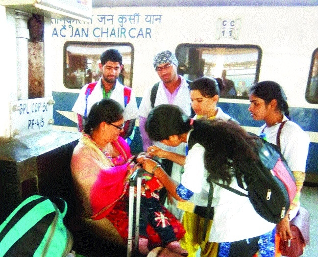 VIMS's nursing students contribute massively in pulse-polio programme