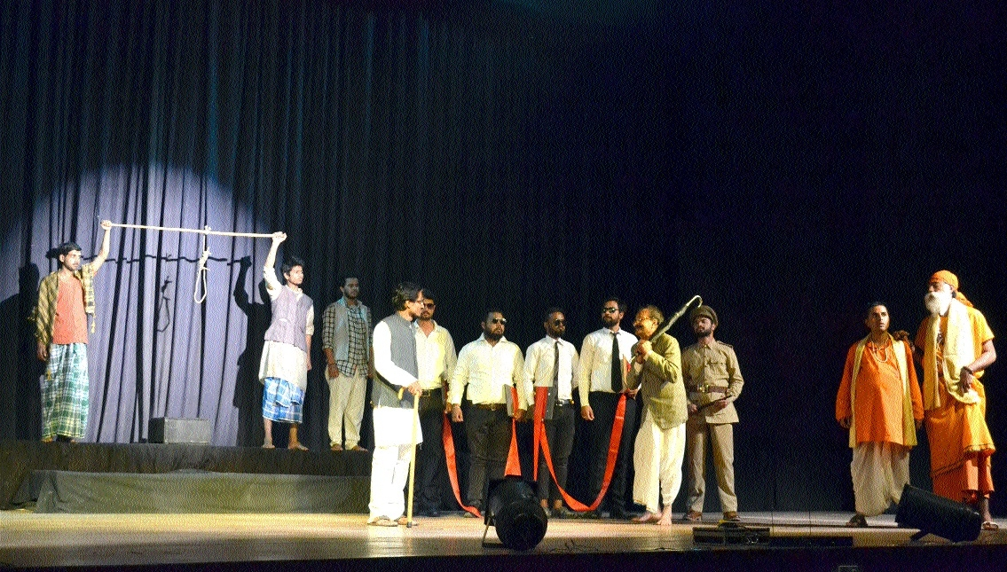 Play 'Andher Nagari Choupat Raja' staged