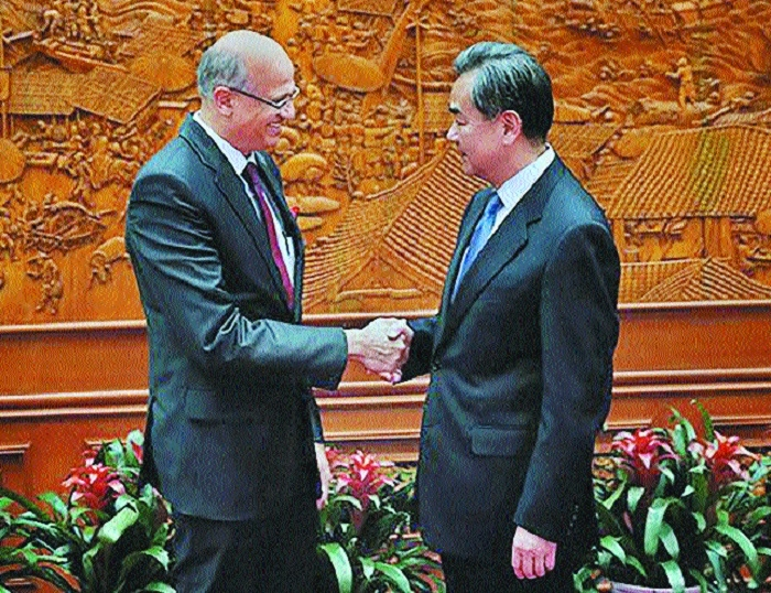 Foreign Secretary Gokhale discusses bilateral ties with top Chinese officials