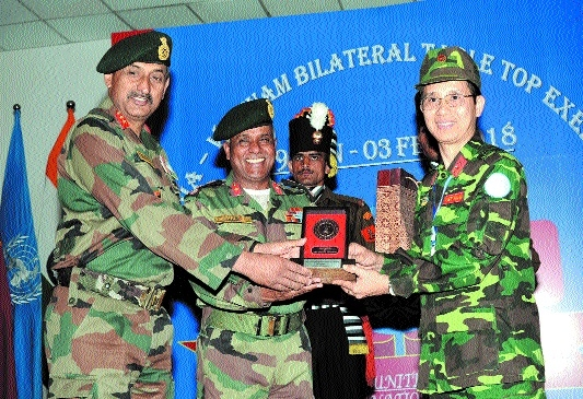 VINBAX: Indian, Vietnam first military exercise ends