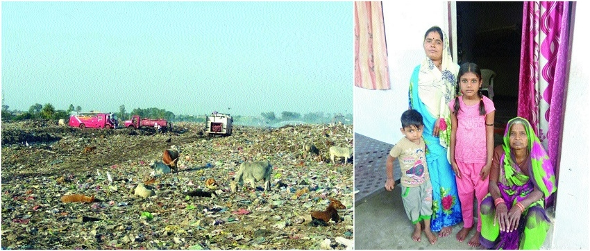 Elderly, kids of Bhanpura suffer most from landfill site smoke