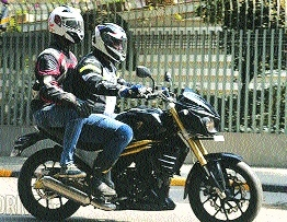 Helmet mandatory for pillion riders too