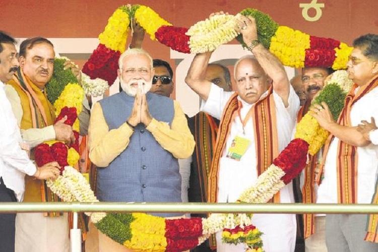 Countdown to Congress Govt's exit has begun in Karnataka, says Modi