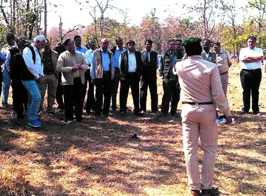 Forest Deptt adopts innovative modules to train field staffers