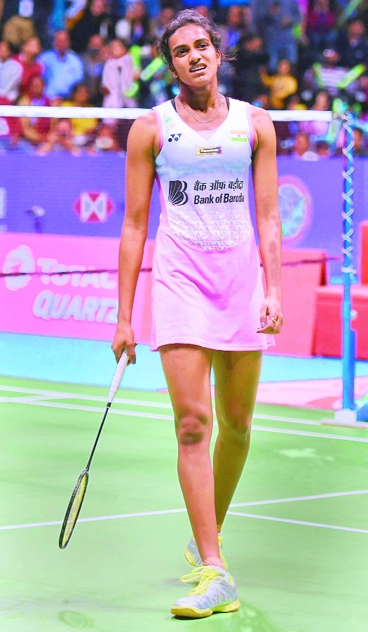 Sindhu goes down fighting
