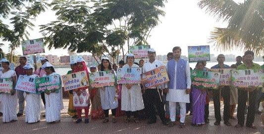 Pyramid Spiritual Society takes out 'Shakahari rally'