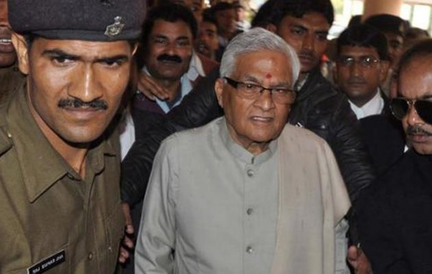 Former Bihar CM Mishra surrenders in fodder scam