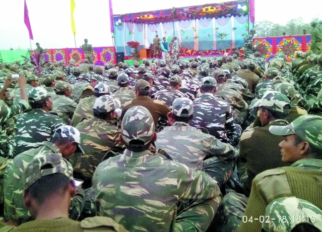 Jungle warfare training of CRPF jawans concludes; cultural events organised