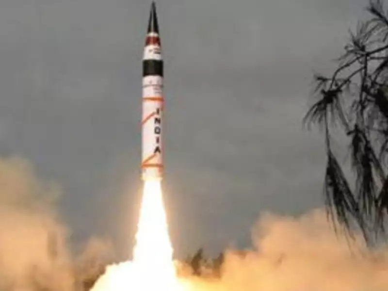 Nuclear capable Agni-1 test-fired