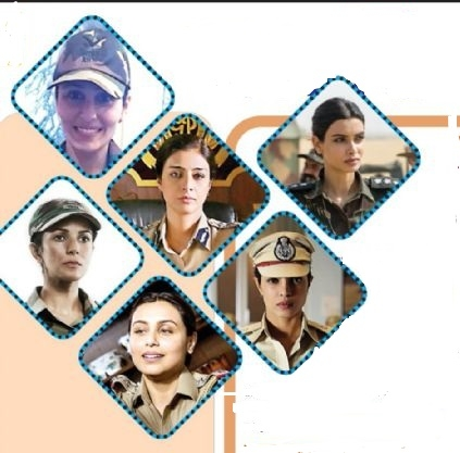Actresses in uniform