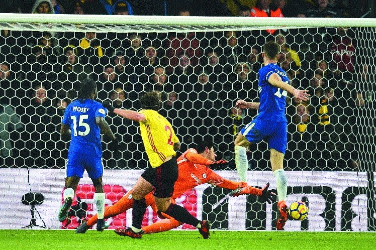 Watford late show sinks Chelsea
