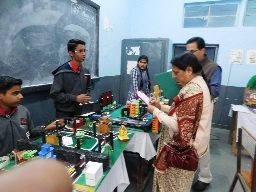 Jawaharlal Nehru National Science, Mathematics expo held