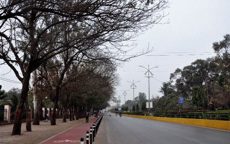 Capital observes sudden twist in weather, temp dips