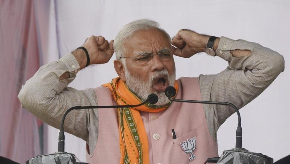 Throw out 'Manik', choose 'Hira': Modi