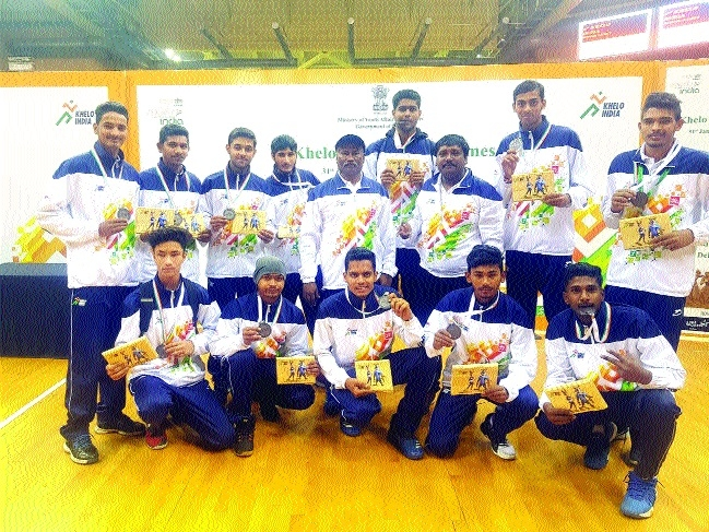 MP team defeats Haryana in Khelo India Khelo Basketball competition