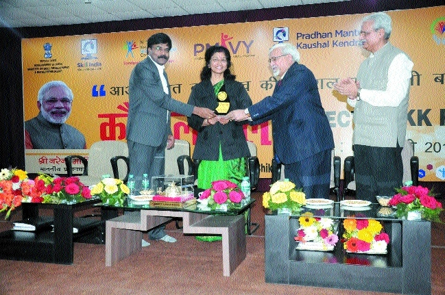 Aisect University holds Kaushal Mela for youth