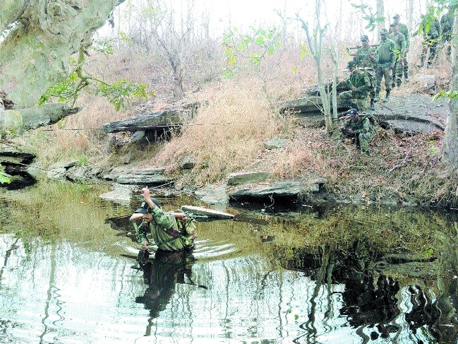 Army's completes Chindits Trail Expedition near Narsinghpur