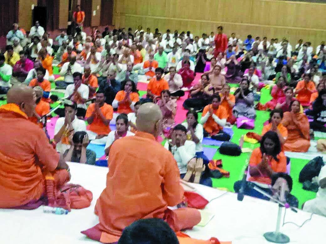 'Swayam ko Jano Yogotsav Bharat Yog Yatra' to conclude today
