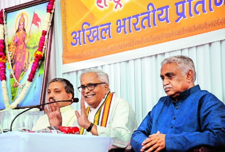 Ram Mandir only at Ayodhya: Bhaiyyaji Joshi
