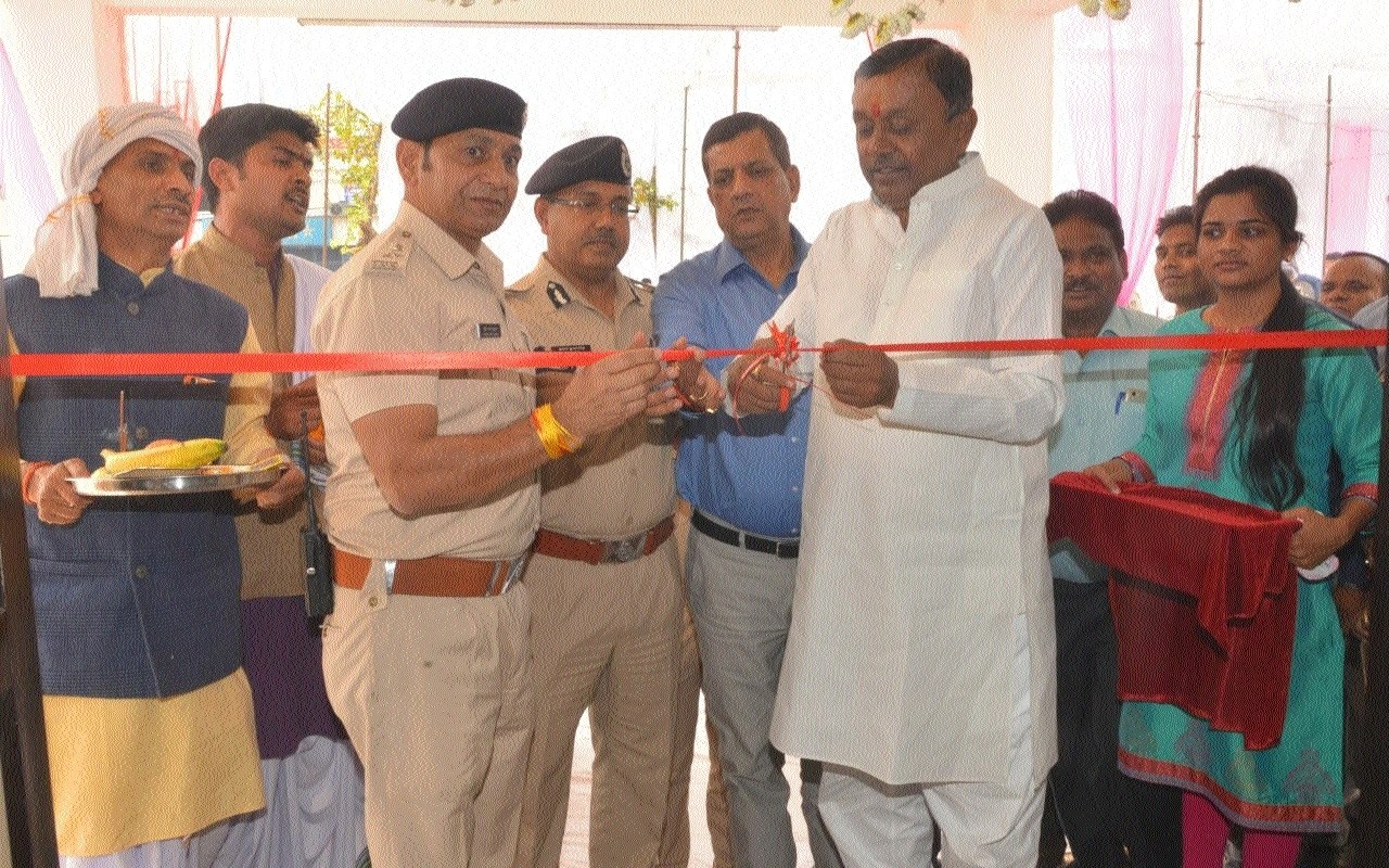 Traffic Mgmt, Data Base Centre of Jabalpur Police inaugurated