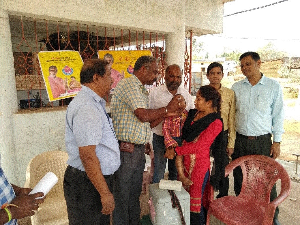 Public Health Department launches Polio Immunisation Drive at Bhilai Steel Plant