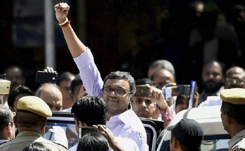 Karti sent to Tihar till 24th, gets no special cell