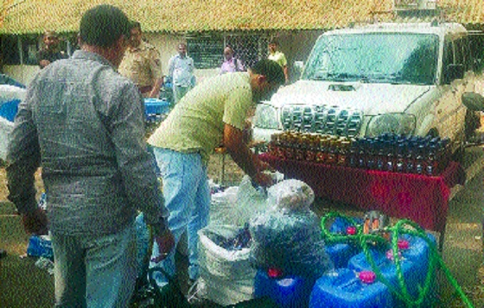 1,434 bottles of IMFL, car, 2-wheeler seized in Excise Department's raids