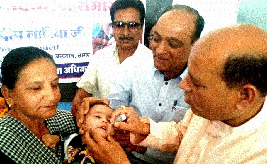 Second phase of Pulse Polio drive started across districts