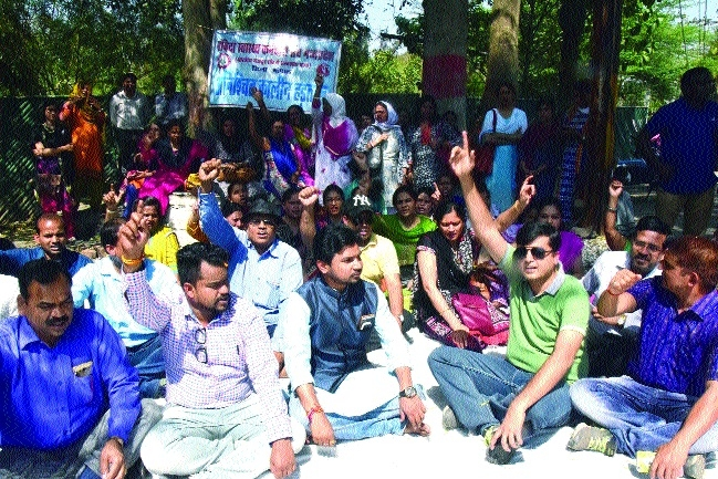 Strike of contractual health employees enters 22nd day