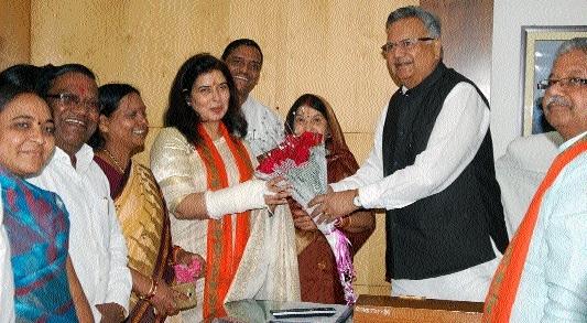 Saroj Pandey will surely be elected to Rajya Sabha: CM