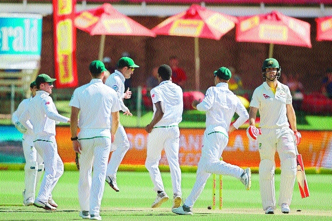 Rabada levels it up fo SA, then banned