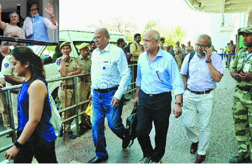 Amitabh Bachchan calls docs in Jodhpur; Jaya says, he is fine
