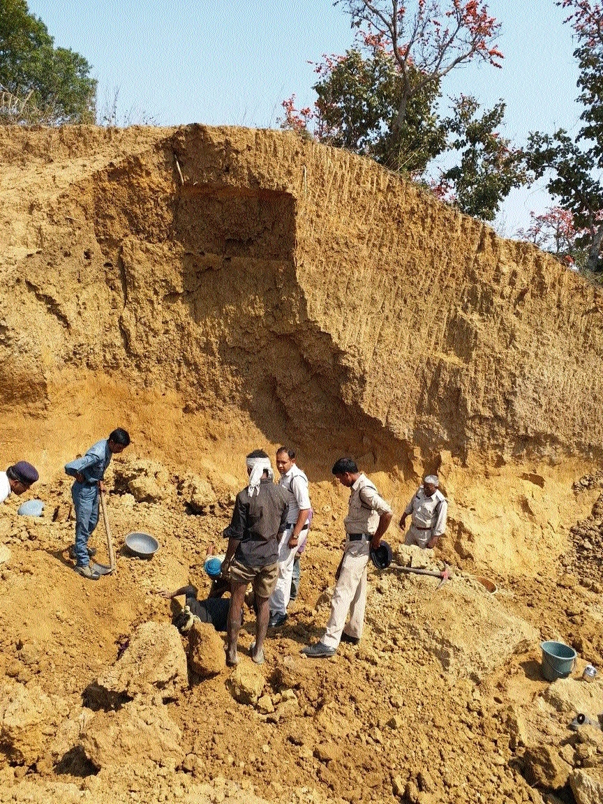 Youth killed as mud quarry caves in