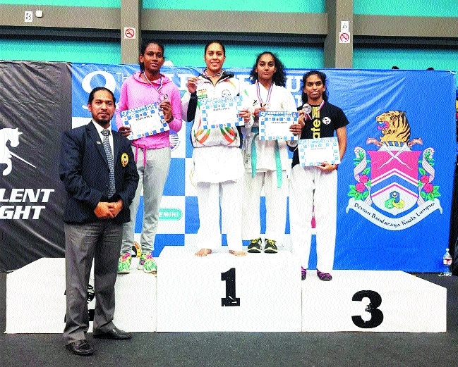 MP karateka Supriya Jatav bags gold in 9th Asia Cup