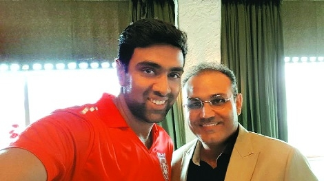 Ashwin banking on tips from Yuvi, Sehwag
