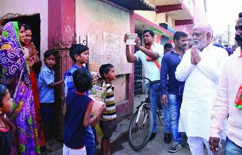 Cabinet Minister Prem Prakash Pandey begins 'Jansanpark Yatra'
