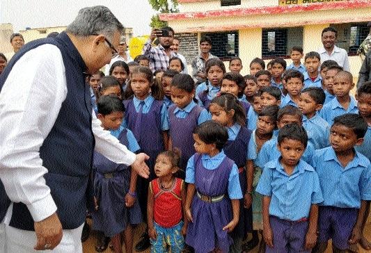 CM visits Koriya under Lok Suraj Abhiyan