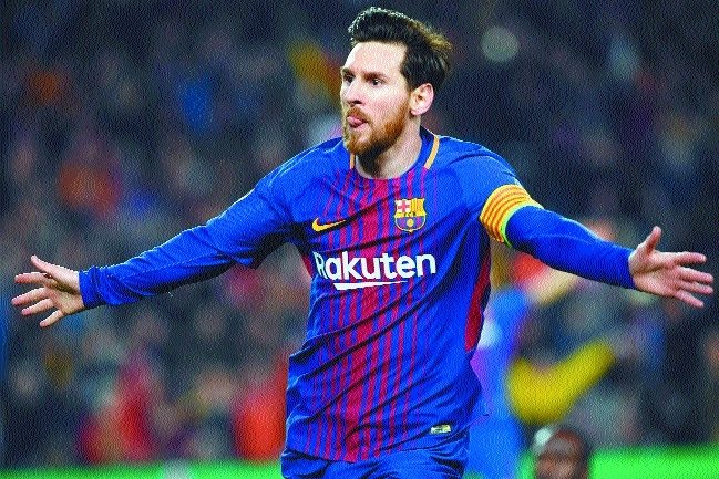 Magical Messi chases away Blues