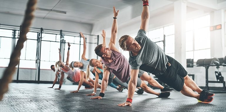 Group workouts, a key to follow fitness goals