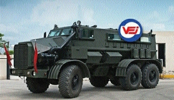 VFJ making Modified Mine Protected Vehicle for Naxal-infested areas
