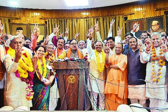 BJP bags 11 RS seats