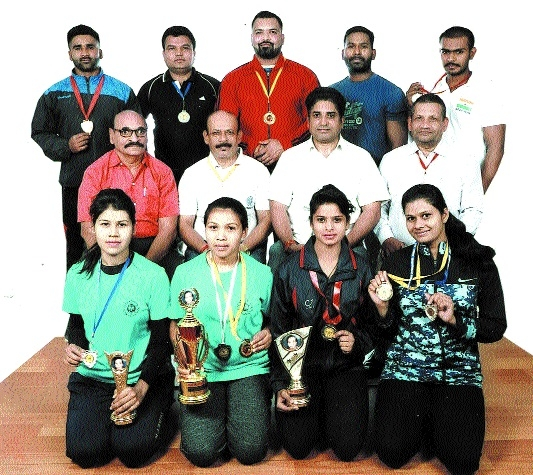 Jabalpur powerlifters clinch eight medals in National Federation Cup