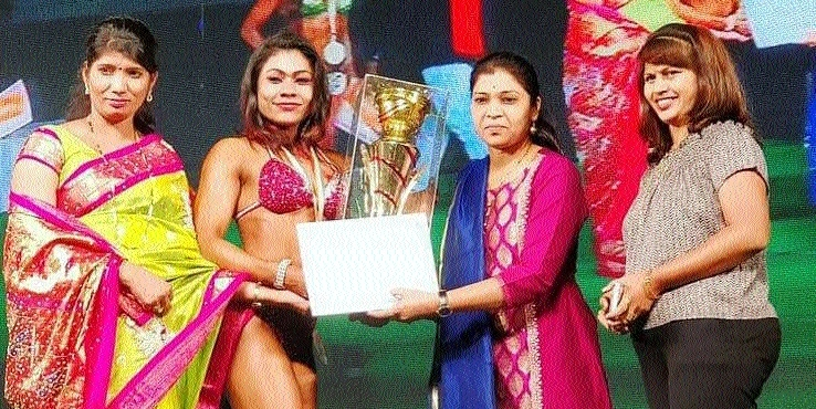 Nisha Bhoyar wins Miss India title in Bodybuilding c'ship