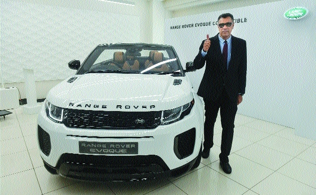 JLR launches first luxury SUV convertible